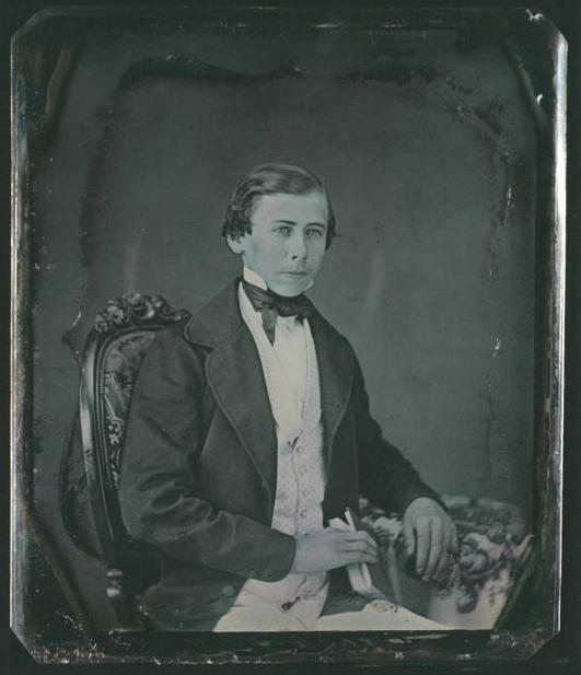 John D. Rockfeller Senior Daquerreotype